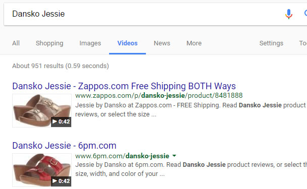 SEO Video On Product Pages