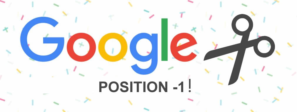 Have You Seen Google's Position -1