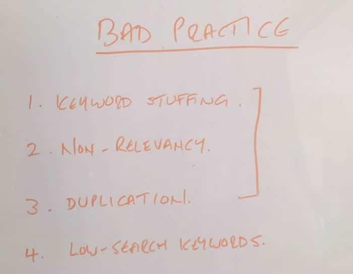 Bad Practice - Meta Title