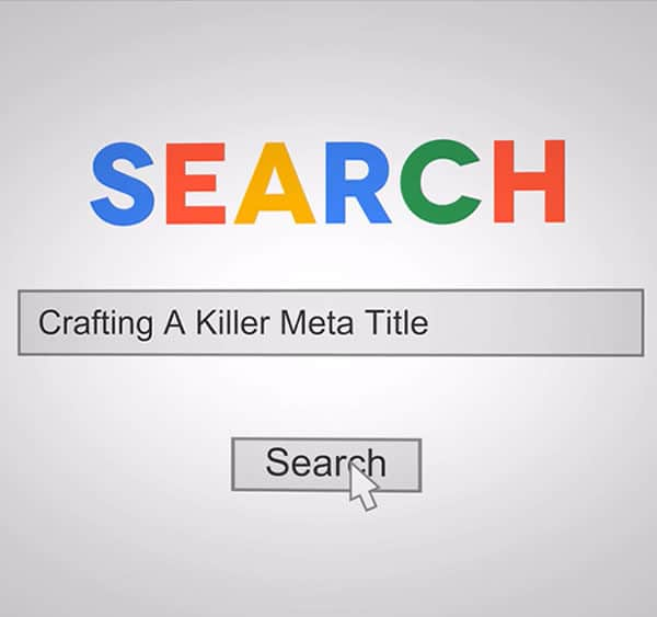 Optimising the meta titles on your website