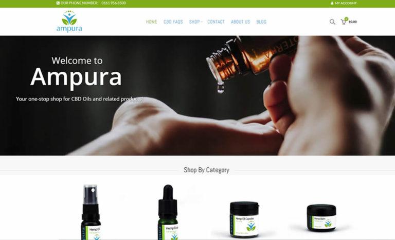 Ampura SEO Optimised Website